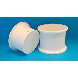 Cylindrisk mikroperforerad ostform, Ø20 cm, 3 kg