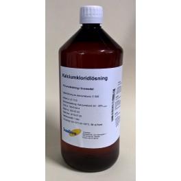 Kalciumkloridlösning, 33-35%, 1 L