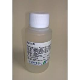 Rengöringslösning, pepsin/saltsyra