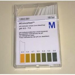 pH stickor, pH 4,0-7,0.