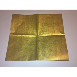 Laminerat folie för smör (guld), 1 kg.