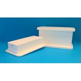Rektangulär mikroperforerad ostform*