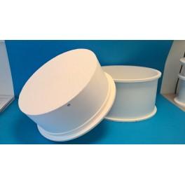 Cylindrisk mikroperforerad ostform, Ø35 cm, 12 kg*