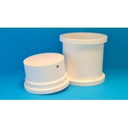 Cylindrisk mikroperforerad ostform, Ø13 cm, 1 kg*