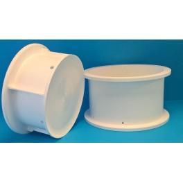 "Cylindrisk mikroperforerad ostform ""Gouda"", Ø25 cm, 6 kg"